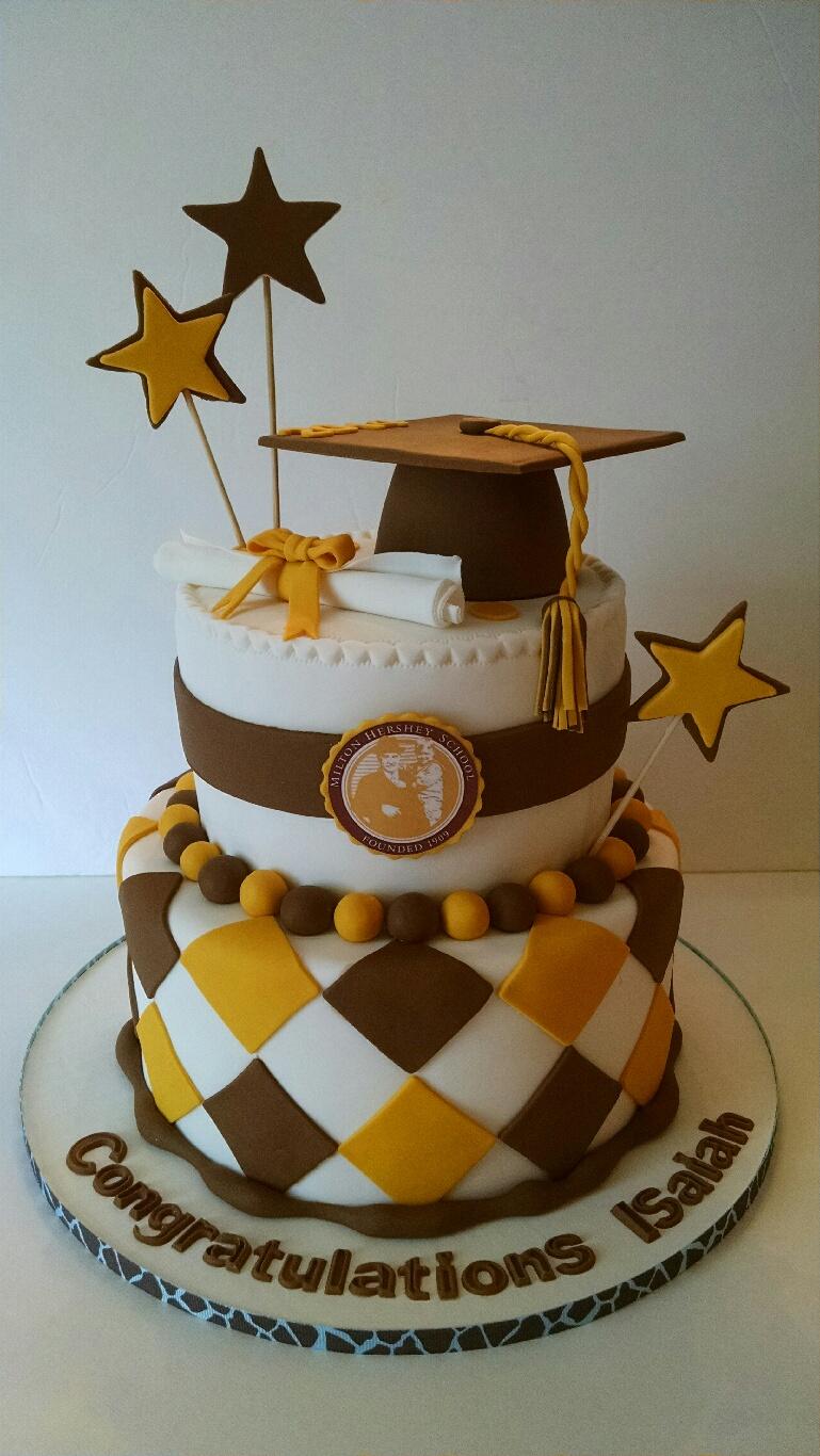 Isaiah's Graduation Cake