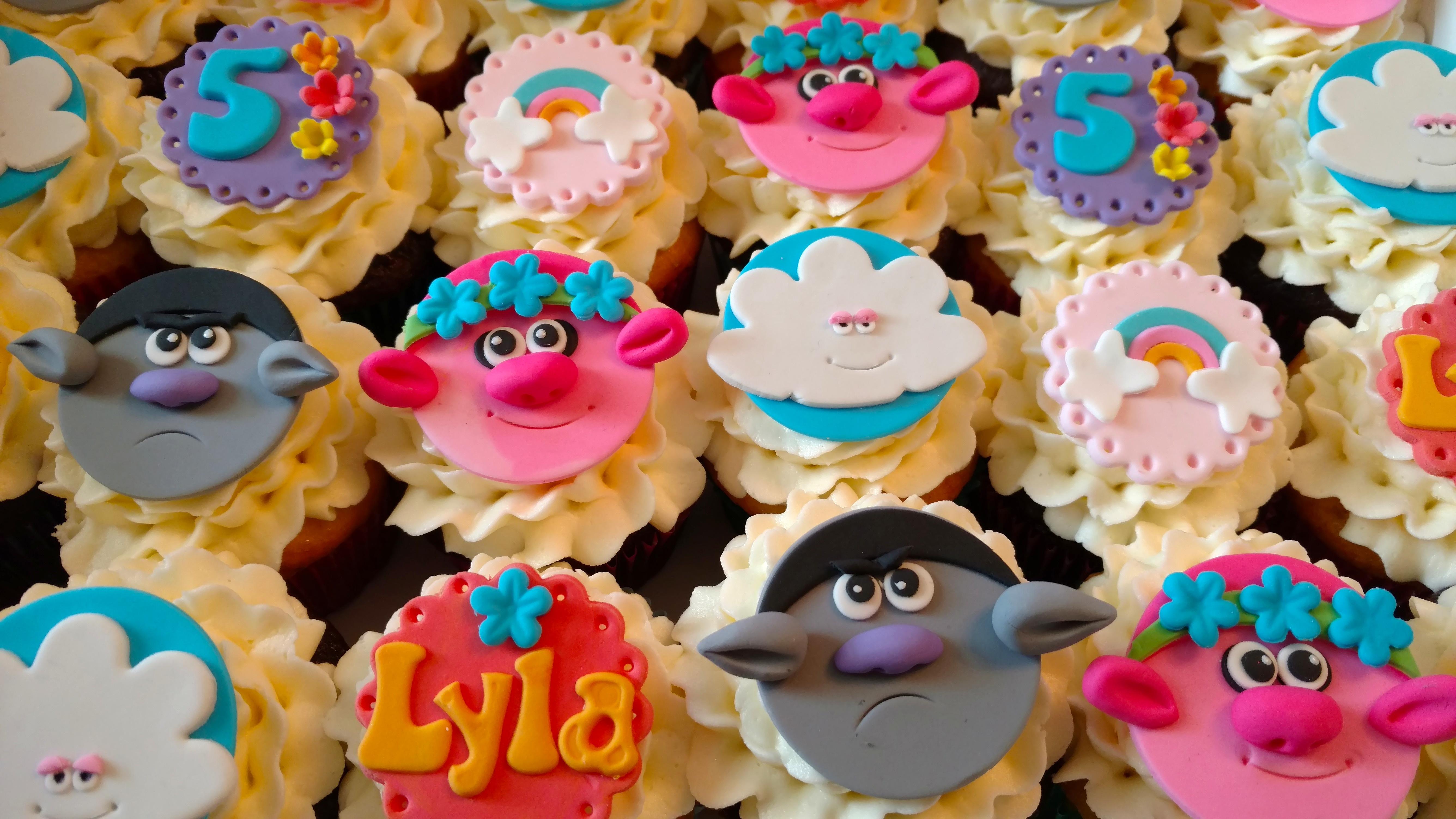 Lyla's Troll's Cupcakes