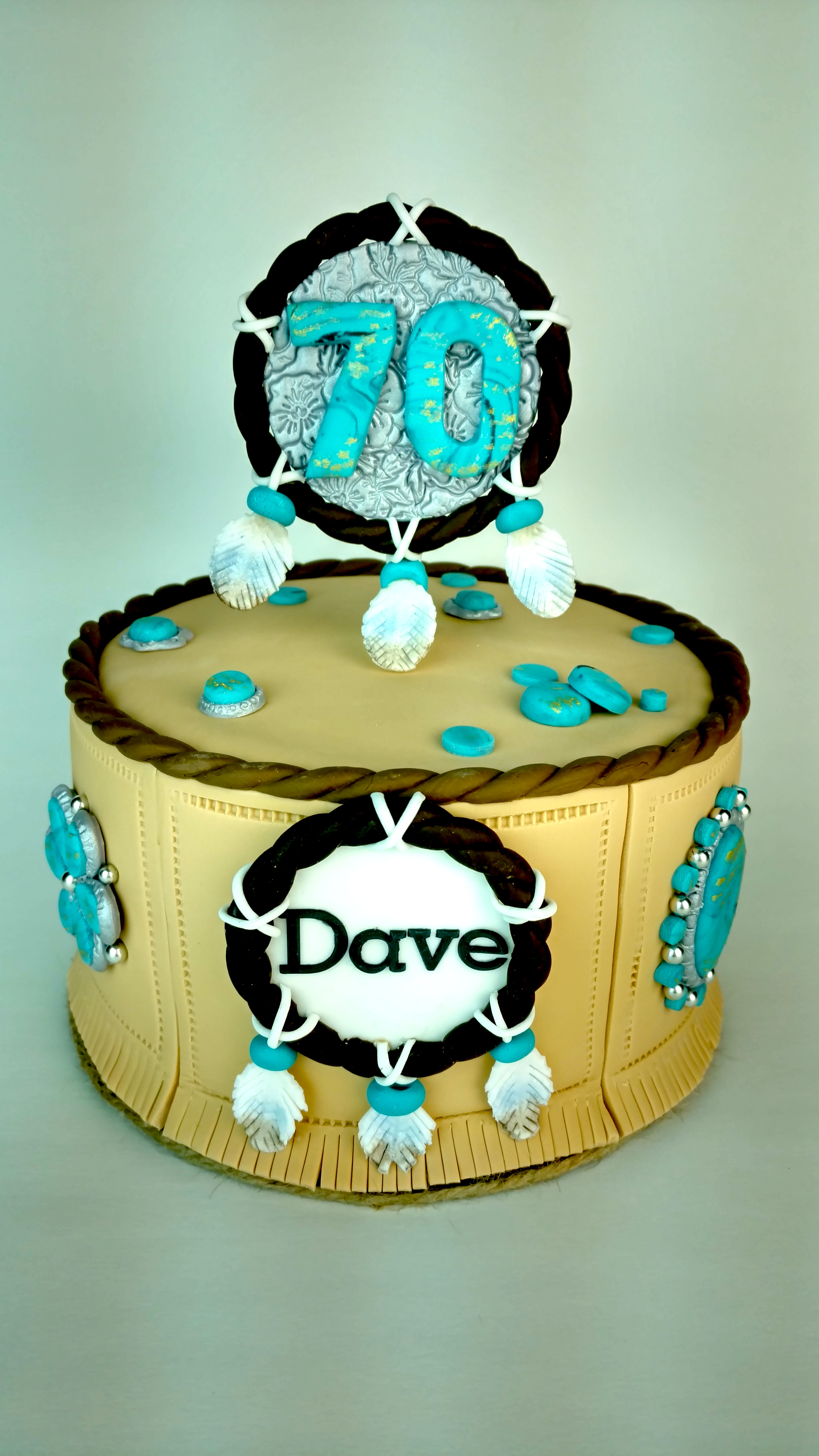 Dave's Navajo/Turquoise Themed Birthday