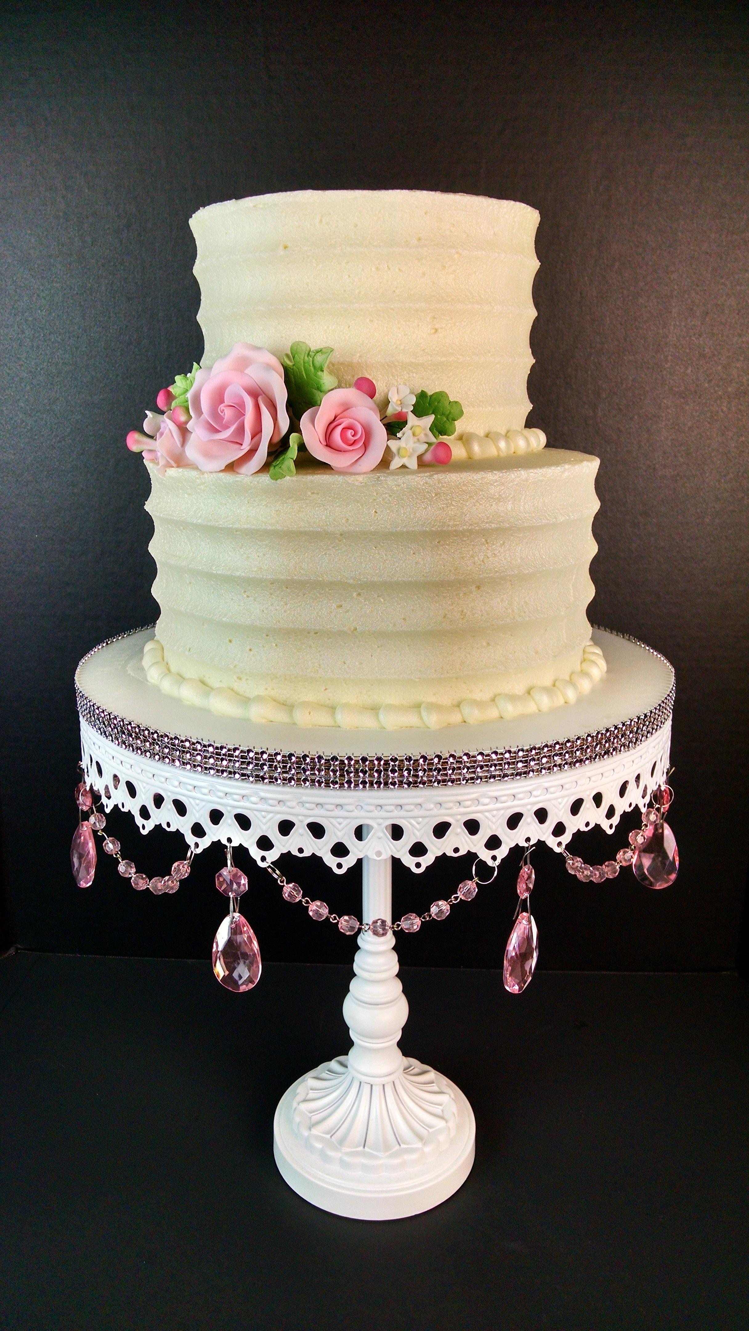 Maria & Todd's Wedding Cake