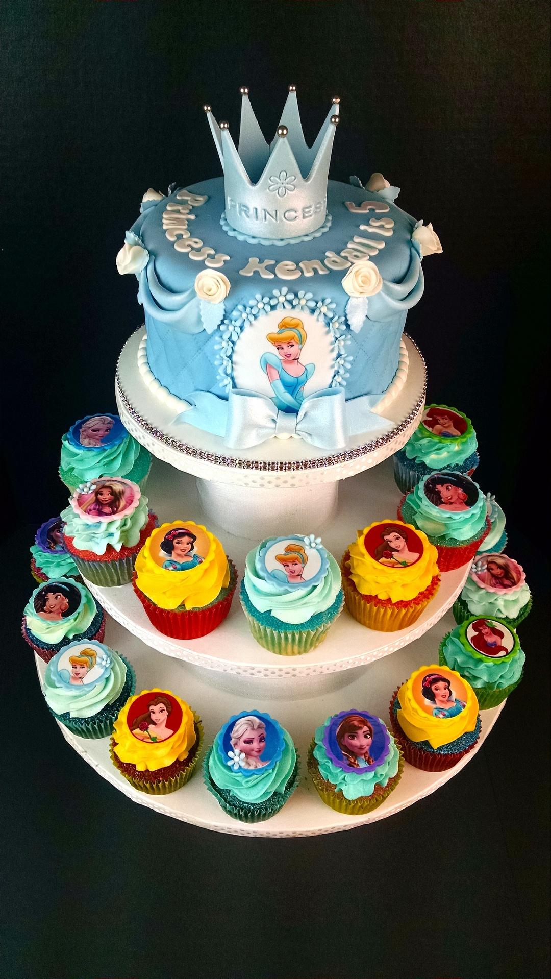 Princess Cake & Cupcakes