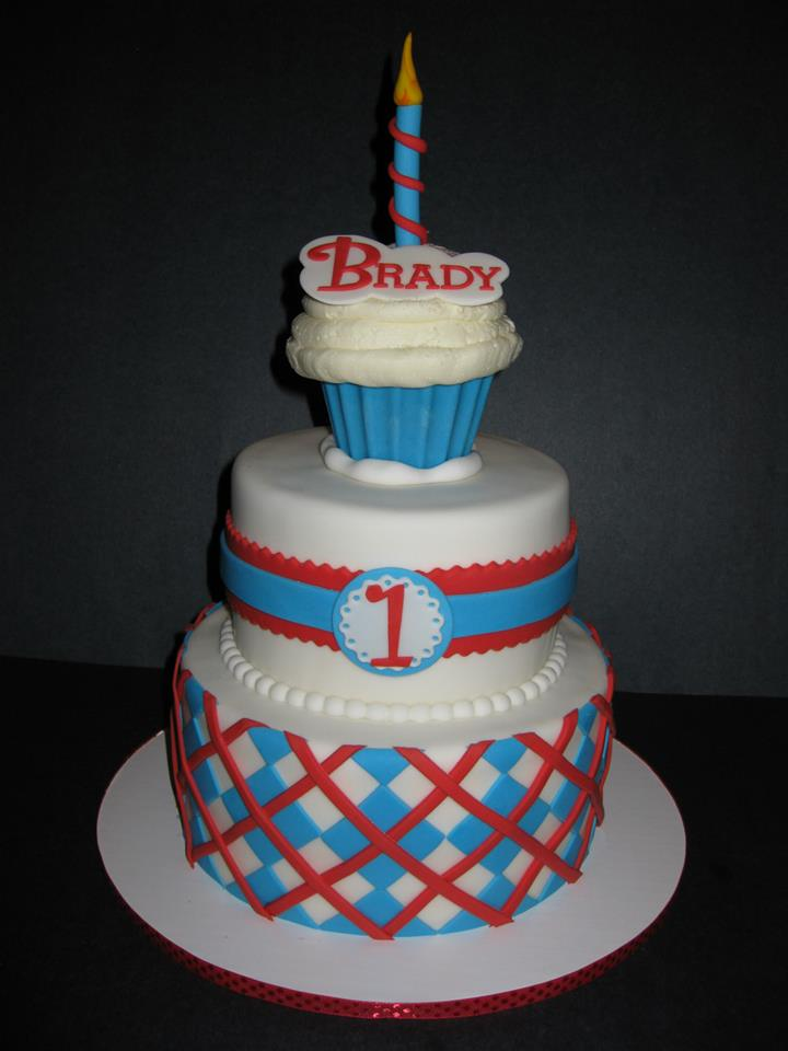 Brady's Dr. Seuss 1st Birthday
