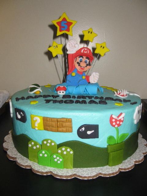 Thomas's Super Mario Birthday
