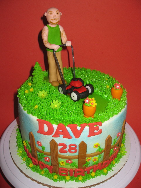 Dave's 28th Birthday Cake