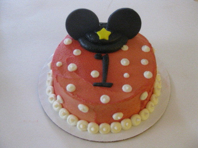 Carter's Mickey Mouse Smash Cake
