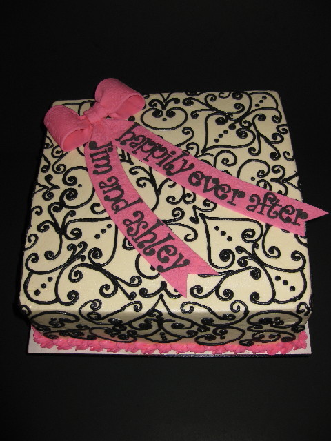 Ashley's Bridal Shower Cake