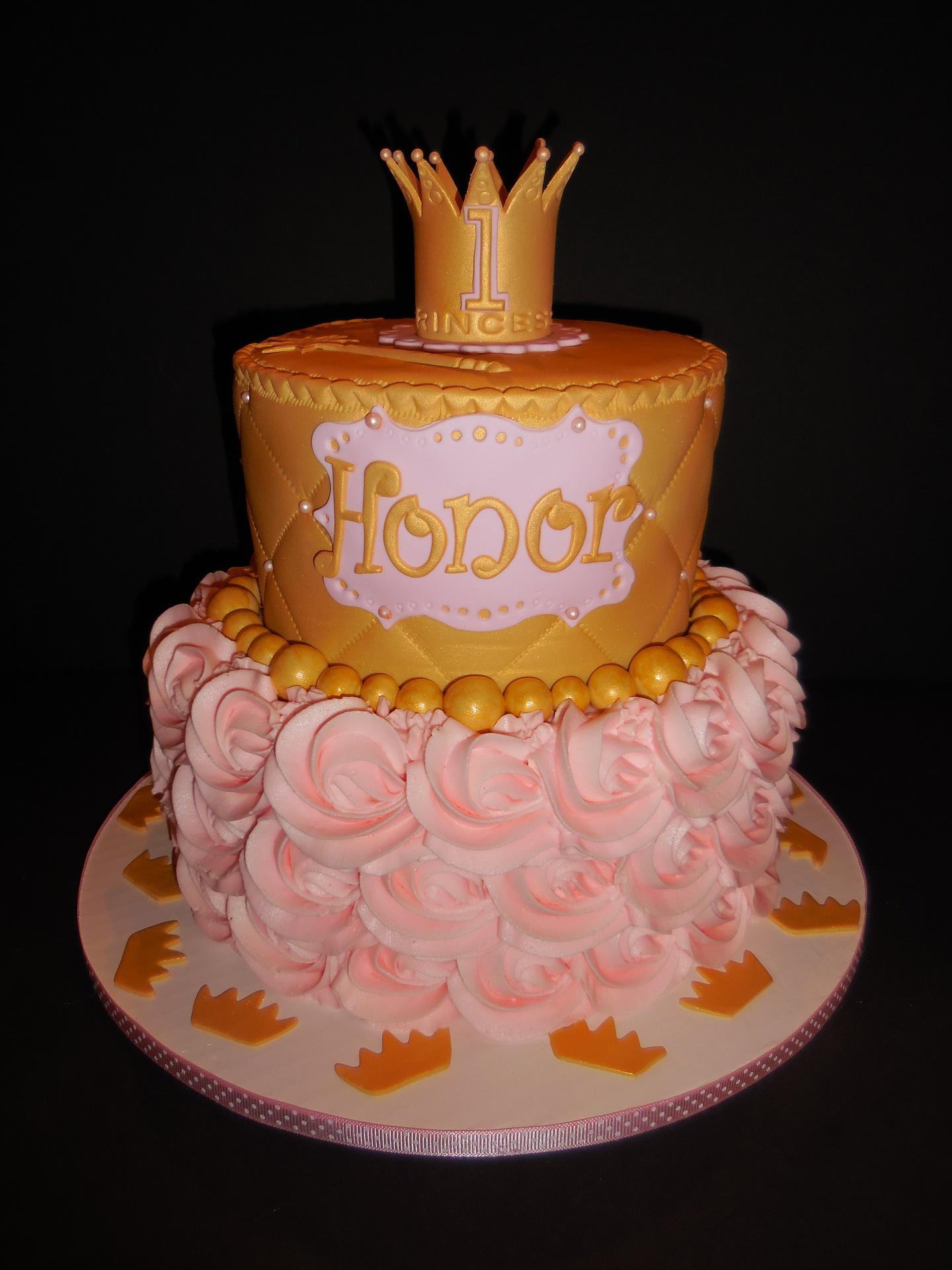 Princess Honor's 1st Birthday Cake