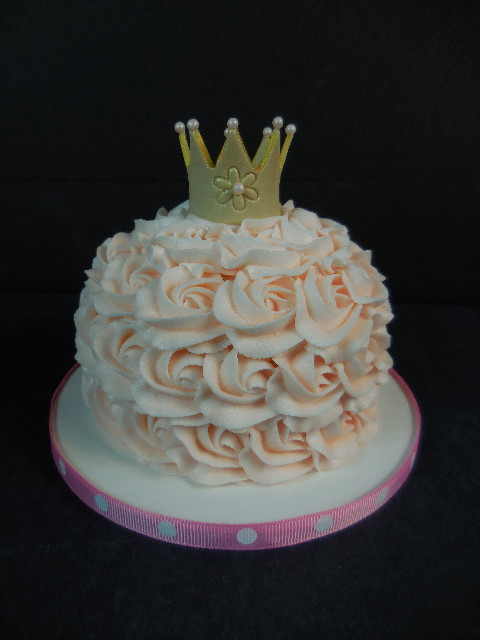 Devan's Princess Smash Cake