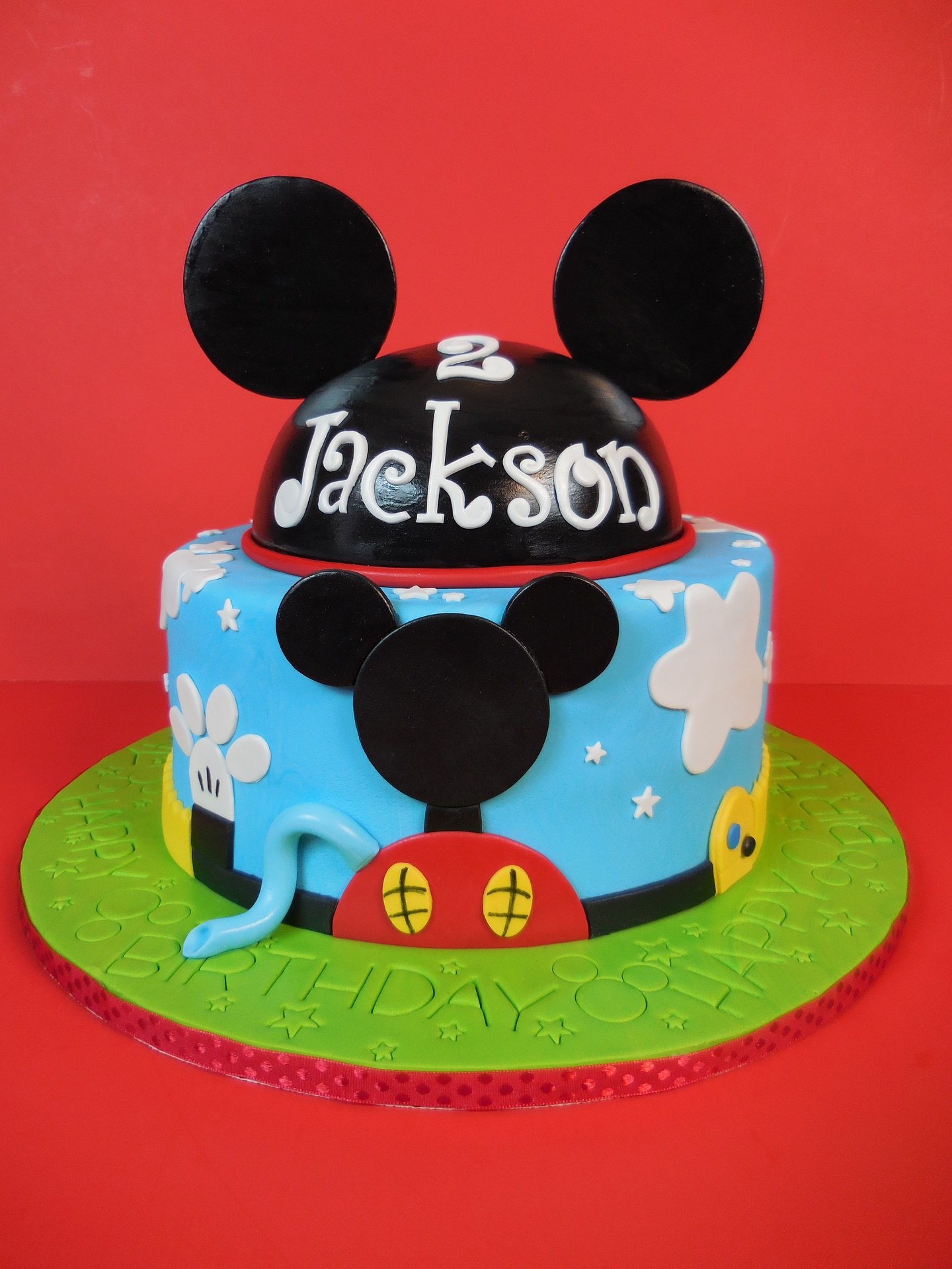 Jackson's Mickey Mouse Club House Birthday