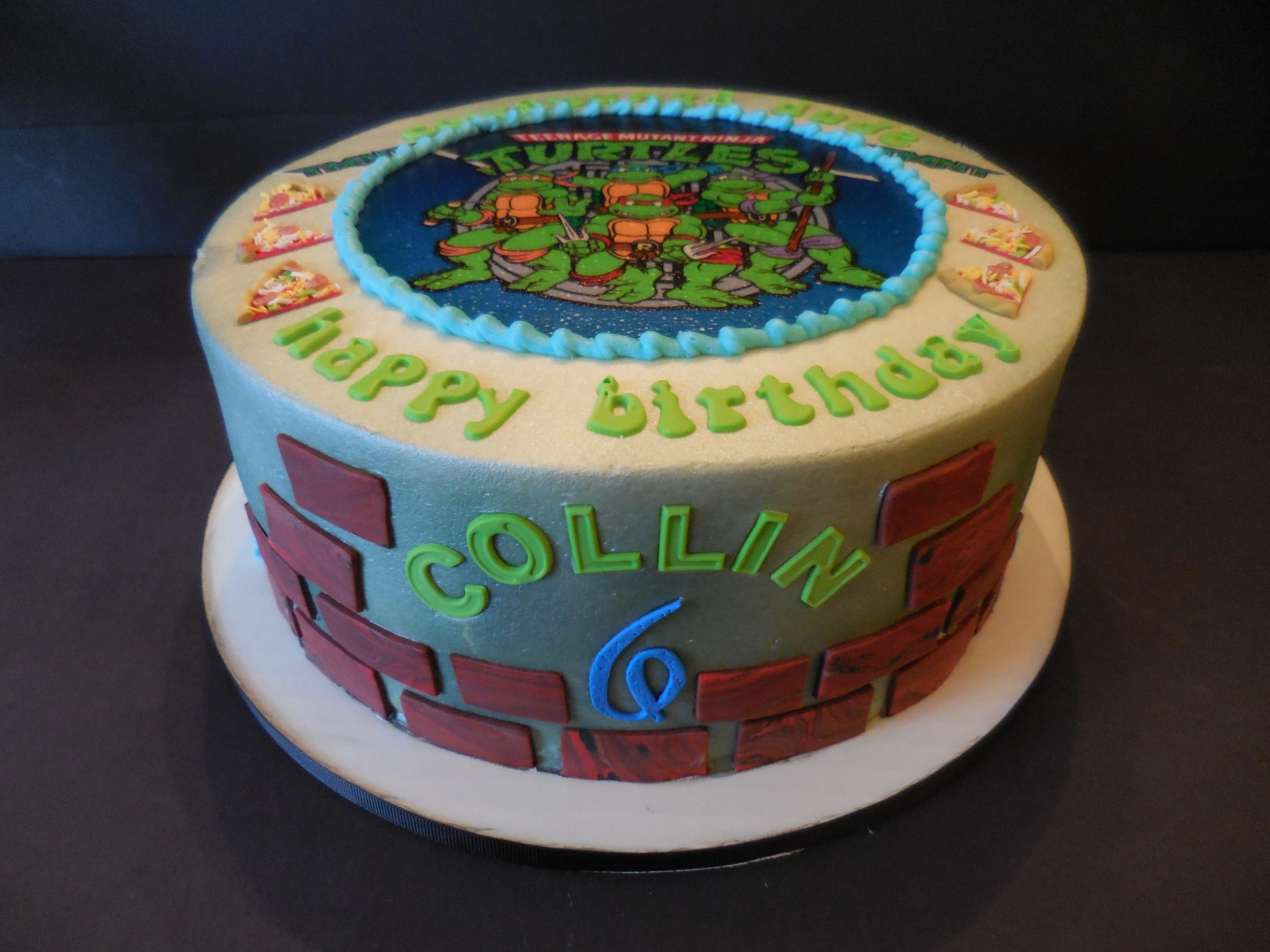 Collin's TMNT Birthday