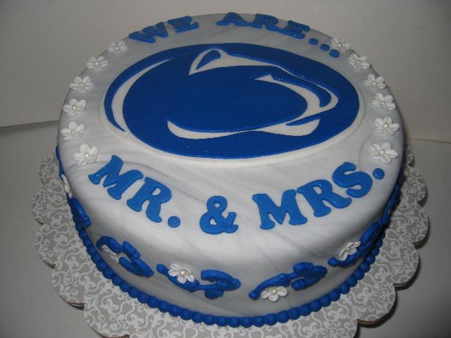 Matt's Penn State Grooms Cake
