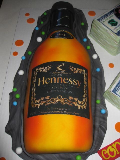 Hennessy Wedding Cake