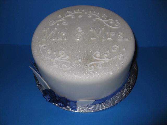Brian & Michelle's Keep Sake Cake