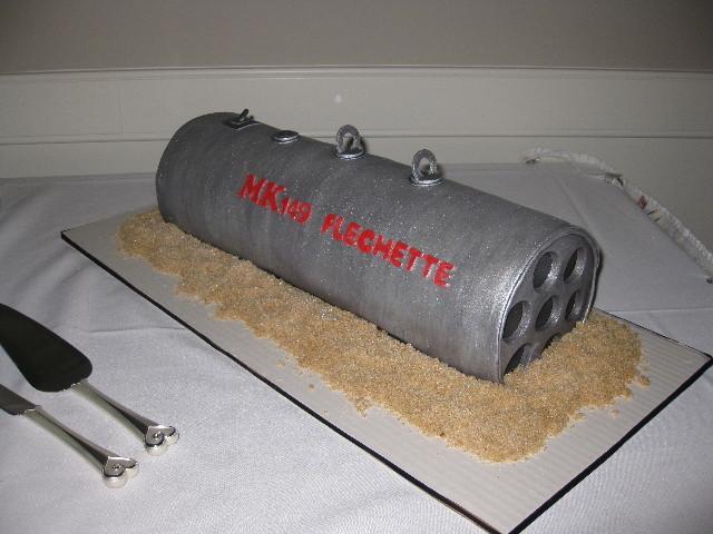 MK149 Flechette Groom's Cake
