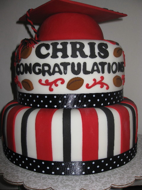 Chris's Graduation Cake