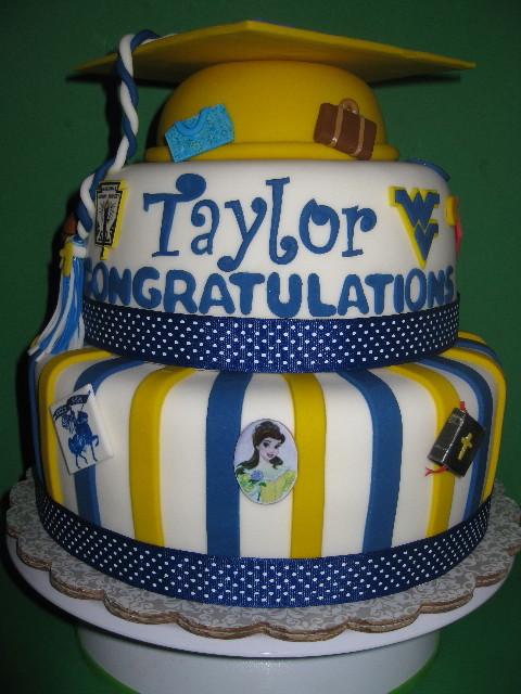 Taylor's Graduation Cake