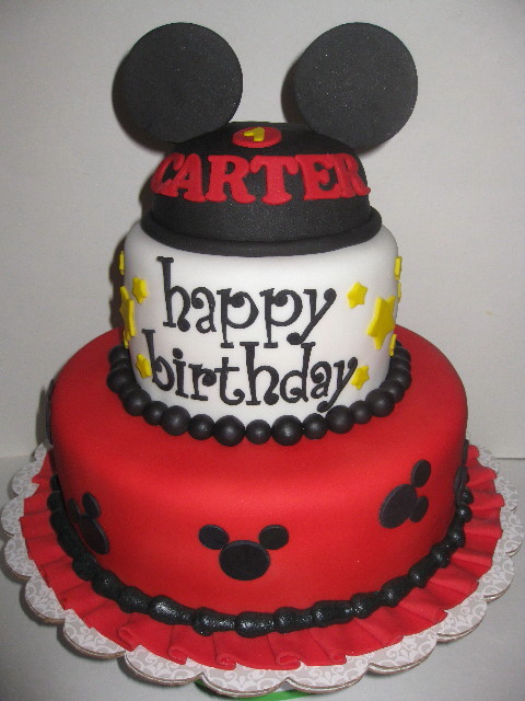 Mickey Mouse 1st Birthday Cupcakes Carter 39 s Mickey Mouse 1st