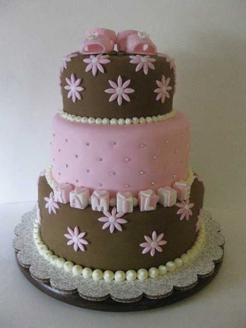 Itu0027s A Girl   Baby Shower Cake