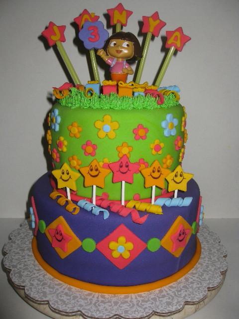 Ja'Nya's Dora Birthday Celebration