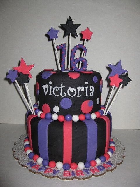Victoria's 16th Birthday Cake