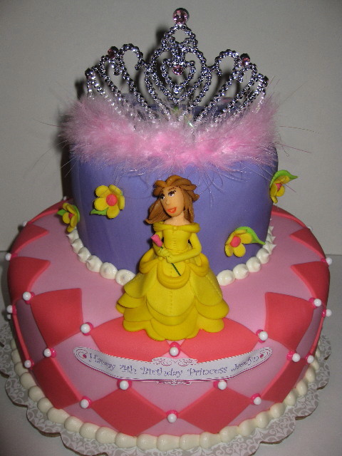 Princess Jaedyn S Belle Cake