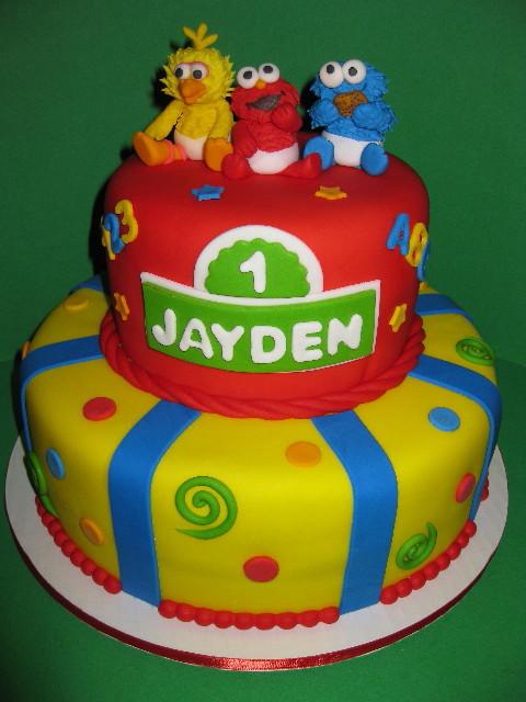 Jayden's Baby Sesame Street Birthday