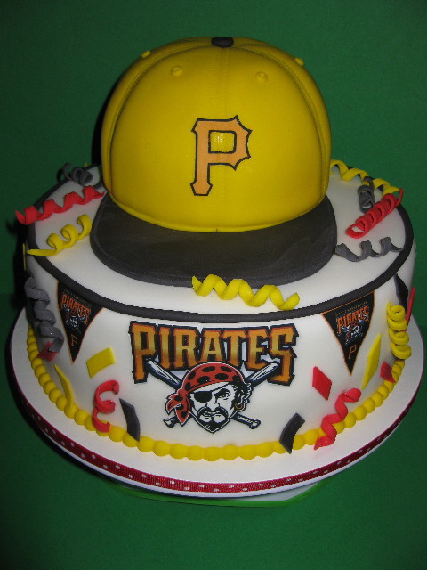 Pittsburgh Pirates Grooms Cake
