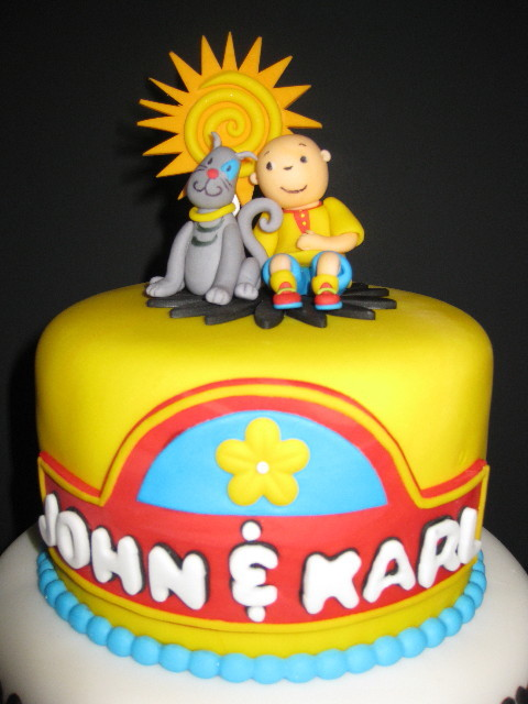 Caillou Birthday Cake Images