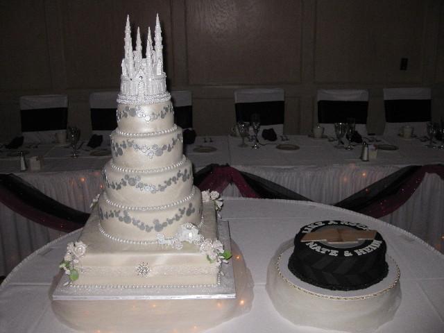 Heidi & Nate's Wedding Cakes