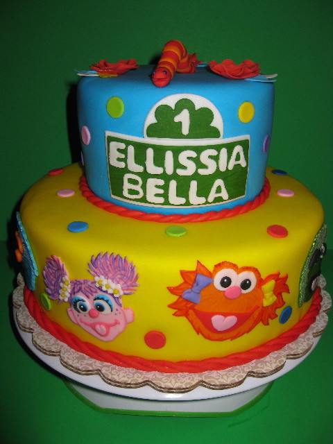 Sesame Street Birthday Celebration