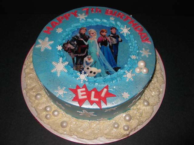 Eli's Frozen Birthday