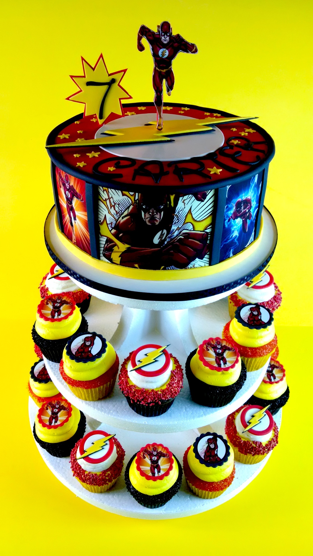 Carter S Flash Cake And Cupcakes