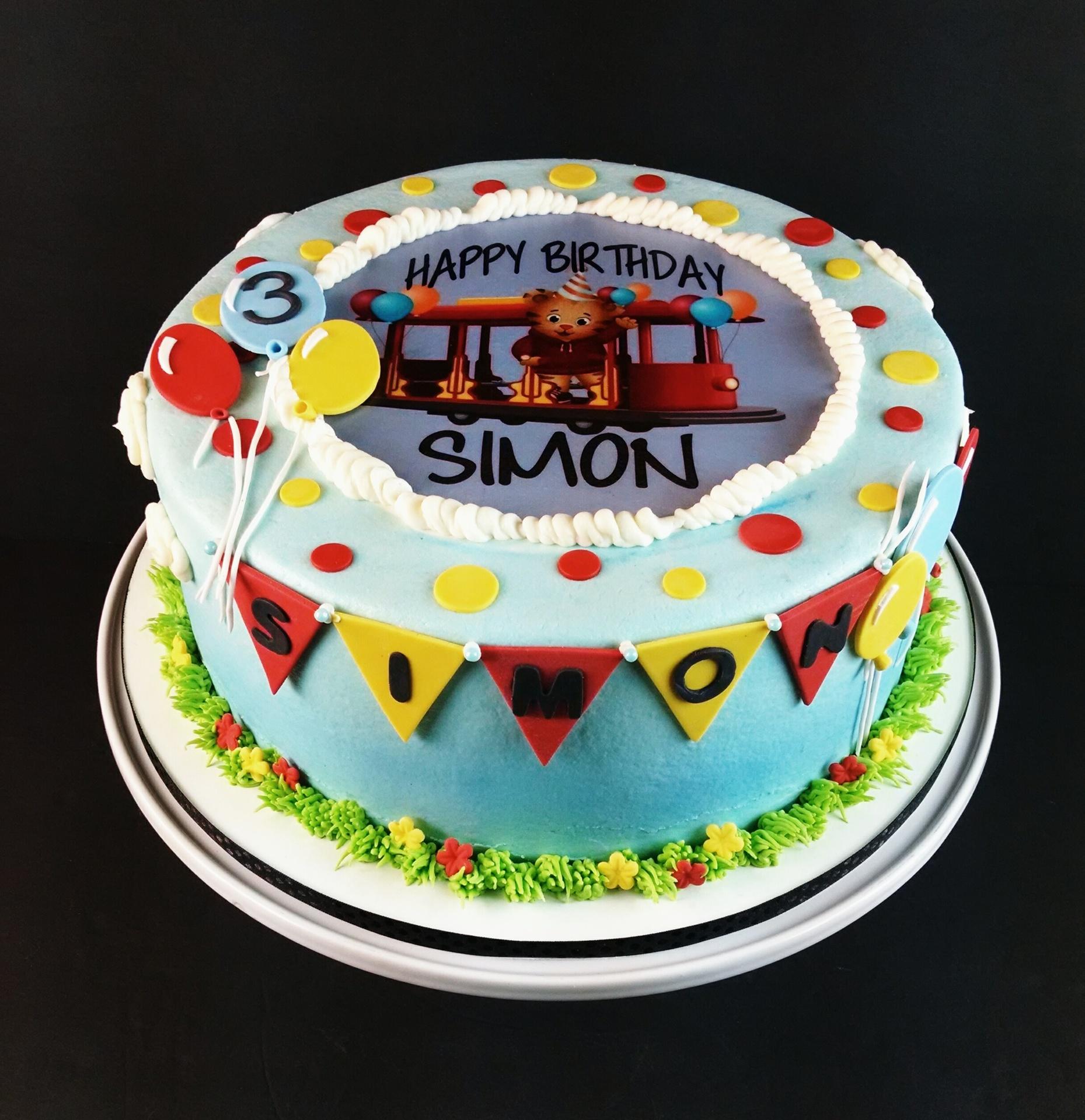 Simons Daniel Tiger Birthday