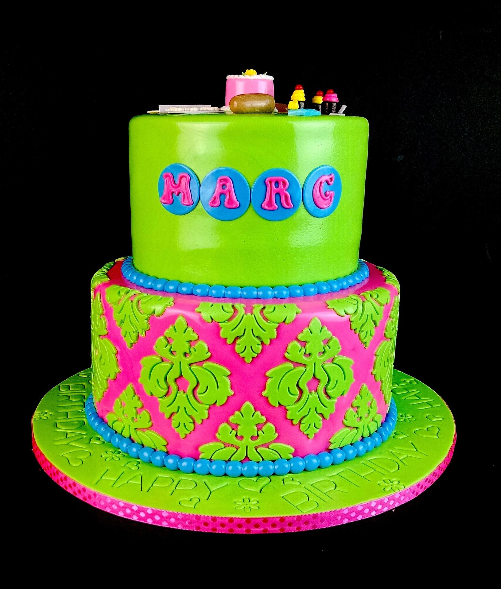 Marg's Baking Themed Cake