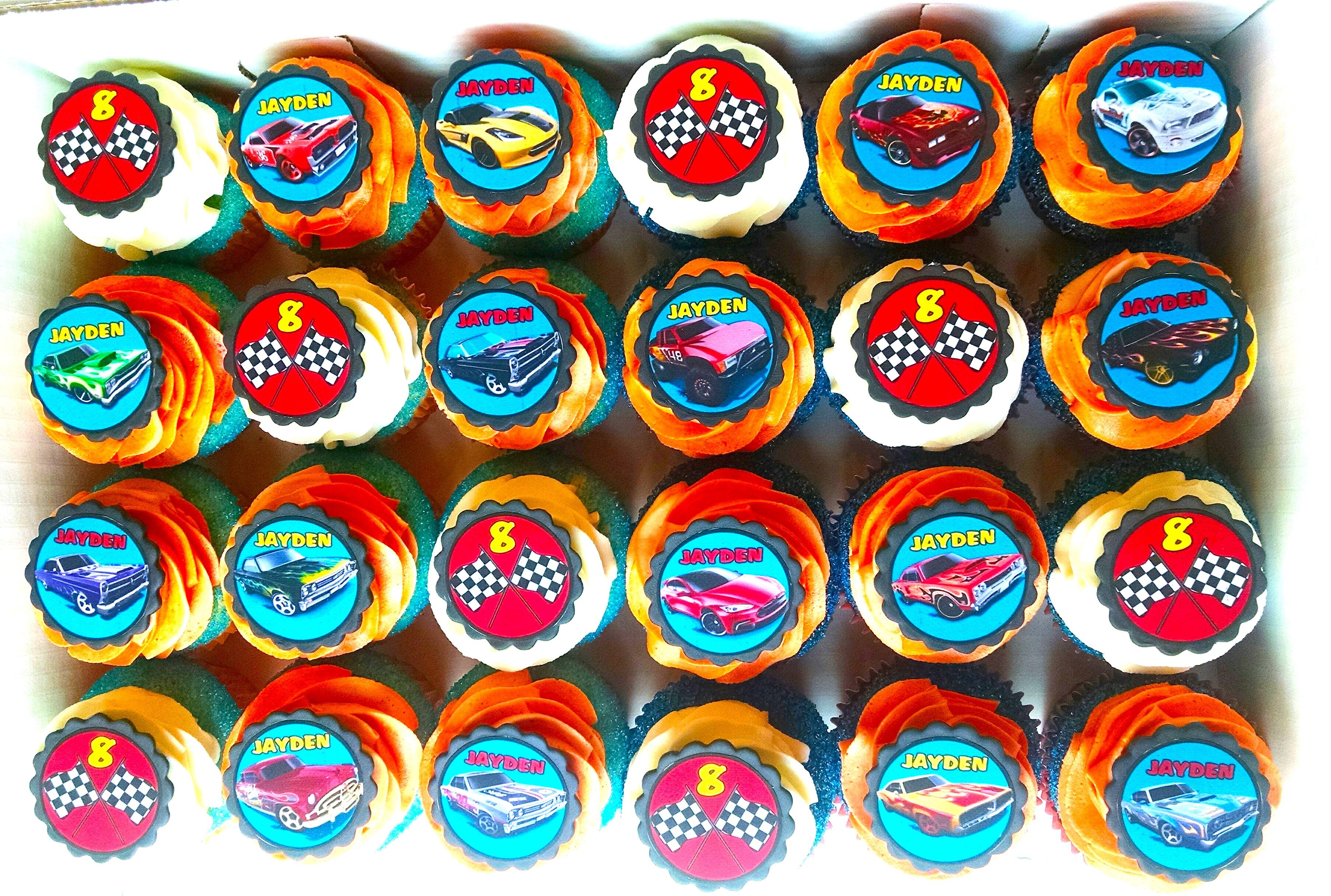 Disney Pixar Cars Cupcakes