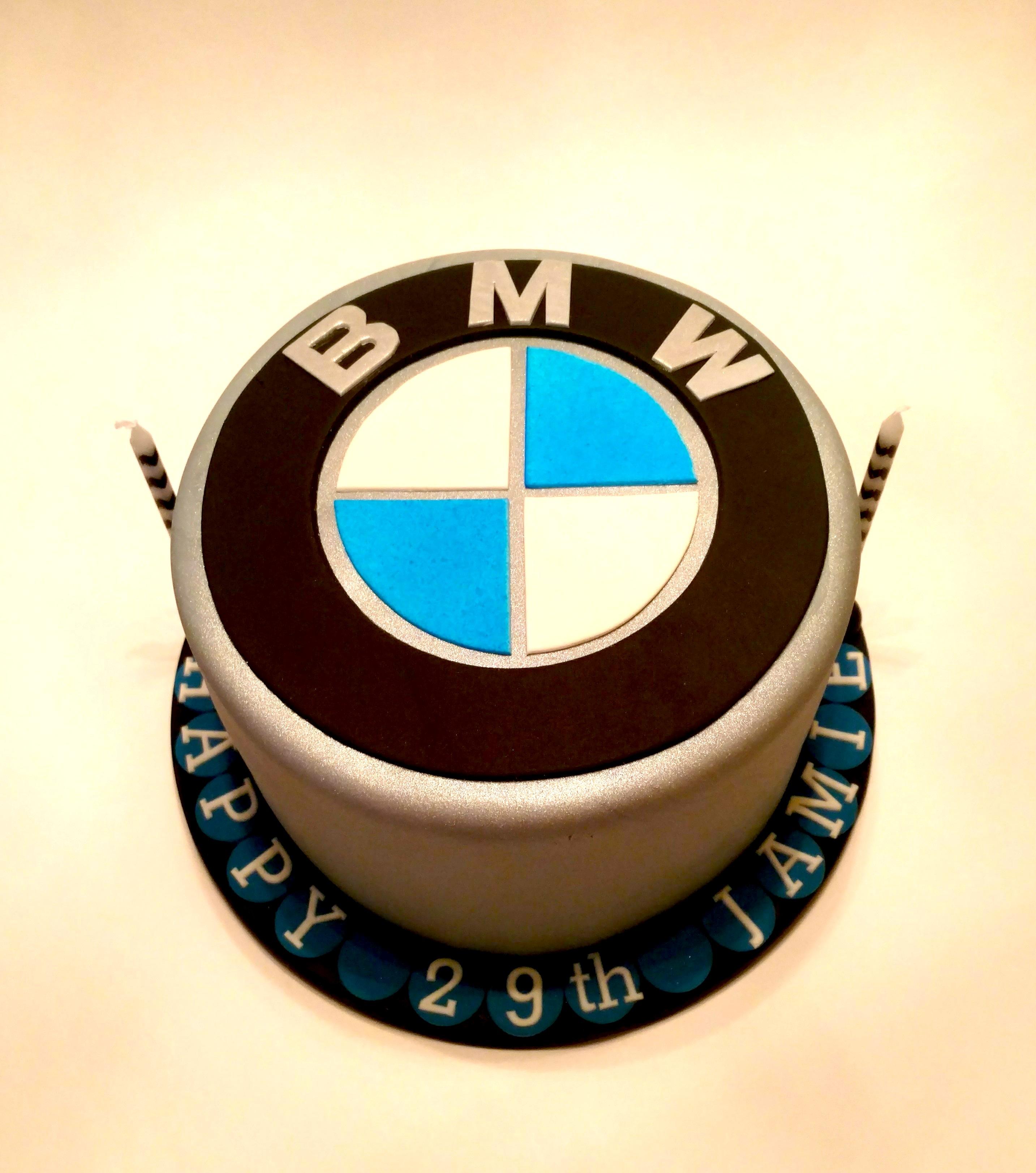 Jamie's BMW Cake