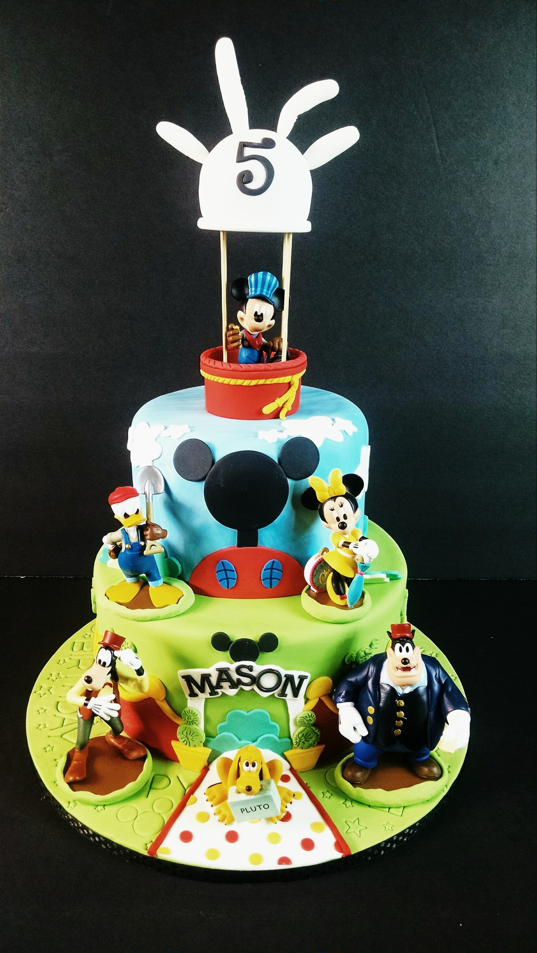 Mason's Mickey Mouse Club House Birthday