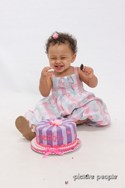 Sophia On Her 1st Birthday