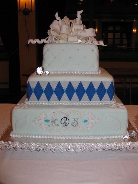 Shana & Nigam's Wedding Cake