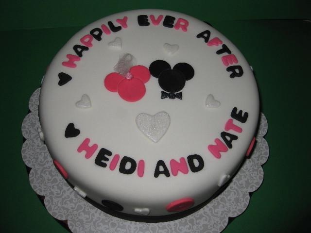 Heidi & Nate's Engagement Cake