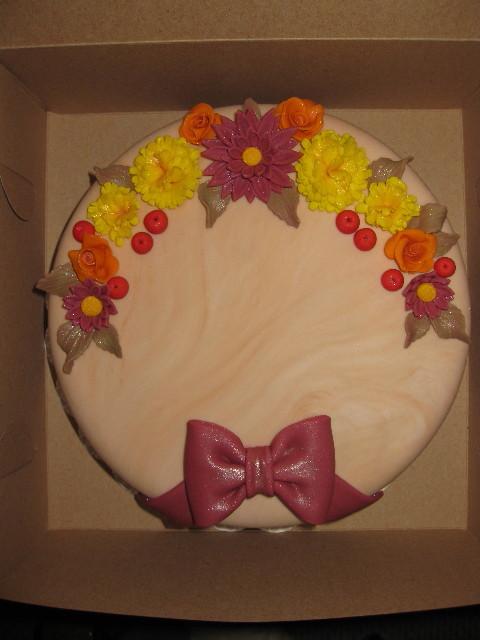 Fall Celebration Cake