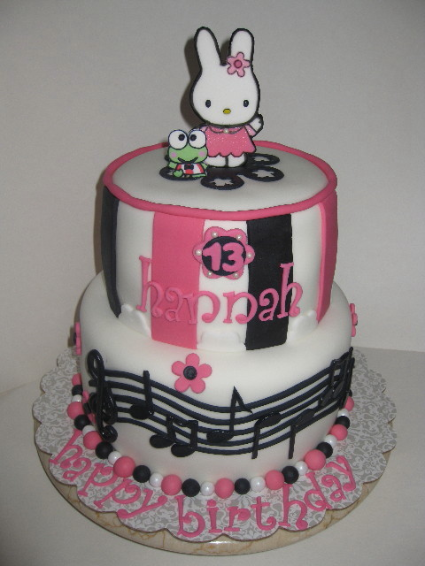 Hannah's Hello Kitty Birthday Cake
