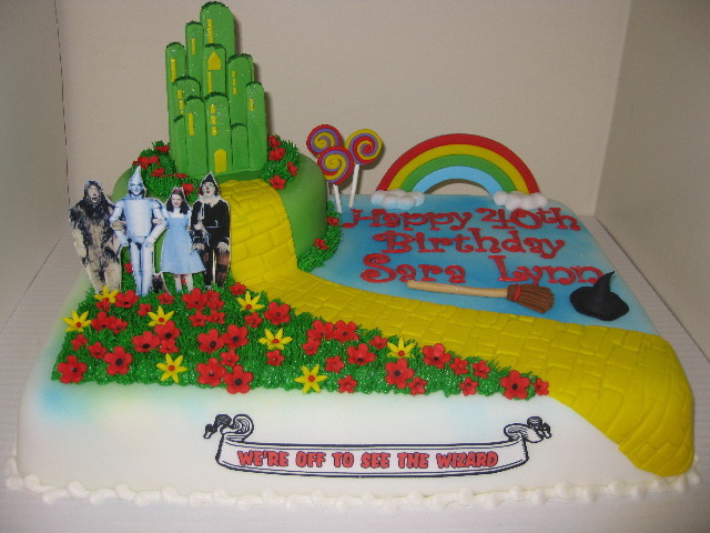 Cake Decorations For Wizard Of Oz : Wizard of Oz Cake