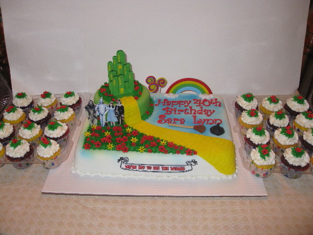 Wizard of Oz with cupcakes