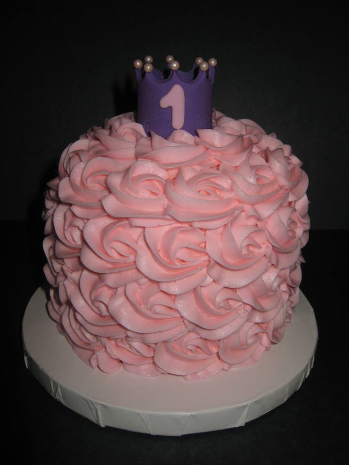 Grace's Princess Smash cake