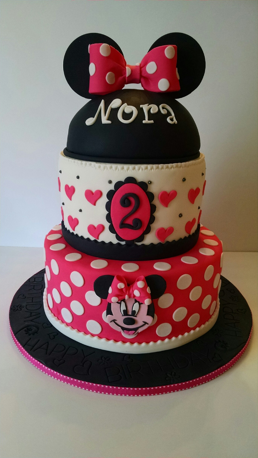 Nora's Minnie Mouse Birthday