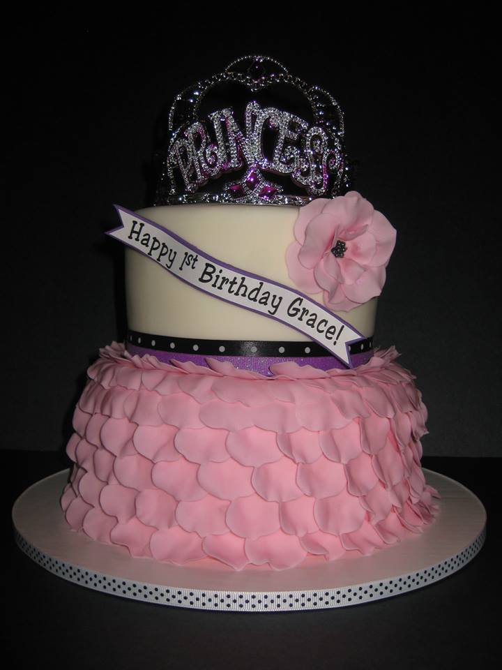 Grace's Princess Birthday Cake