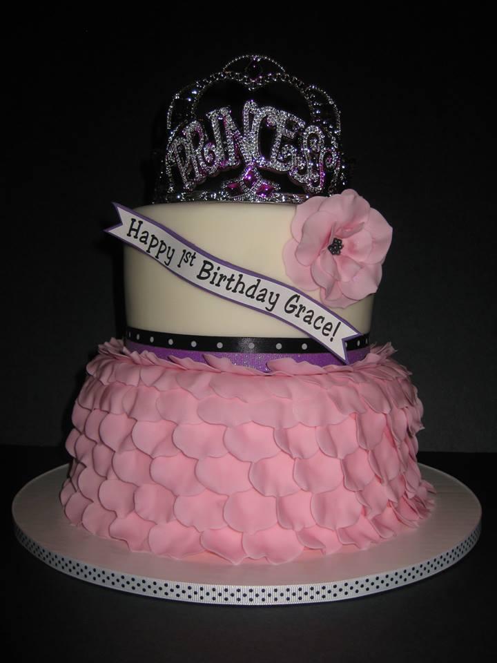 Grace's Princess Birthday Cake