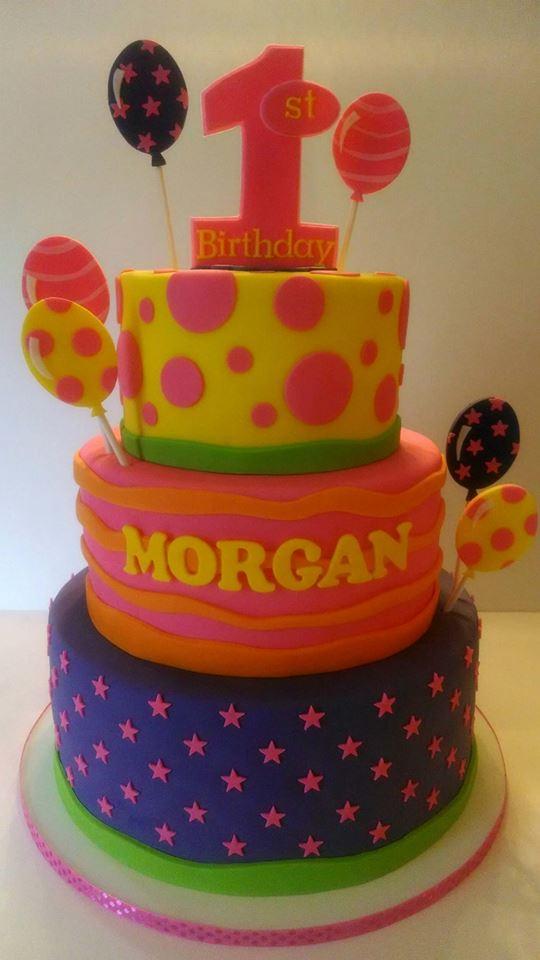 Morgan's 1st Birthday Cake