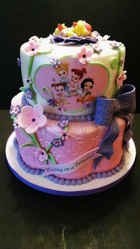 Janice's Baby Princesses Shower Cake